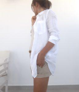 buy popular bb962 2526d La camicia di lino, capo ideale per ogni valigia!