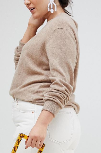 How to make an inexpensive cashmere sweater look pure luxe