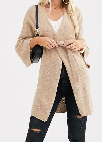 How to look slimmer with cardigans