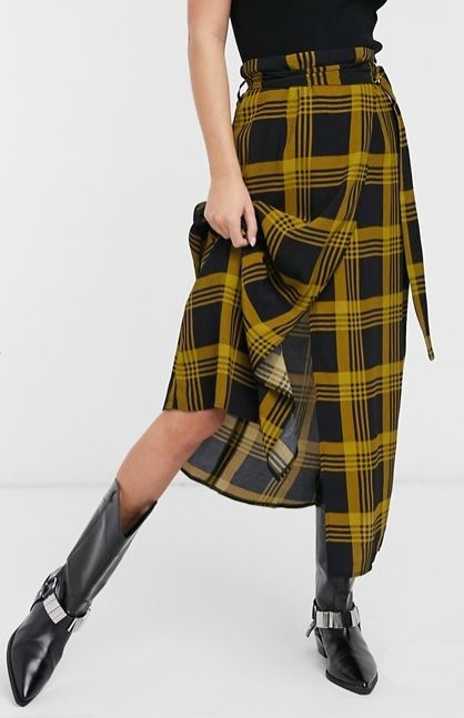 How to look slimmer with skirts: DON'Ts