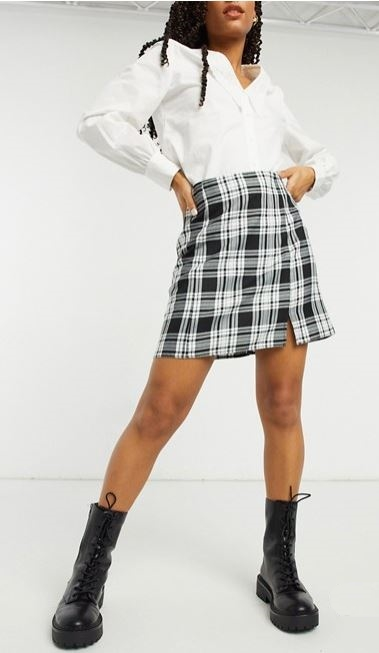 How to look slimmer when wearing a skirt: DOs