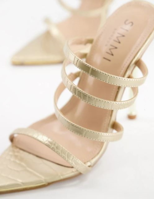 How to take advantage of metallic shoes to elongate your legs – Part 1